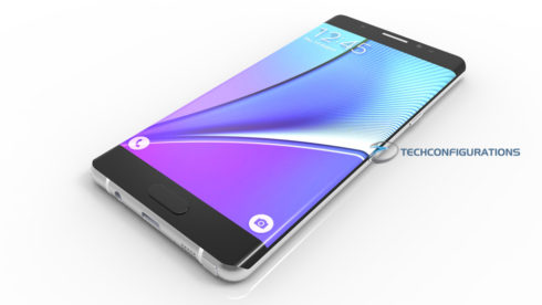 Samsung Galaxy Note 7 3D render (1)