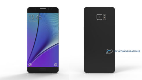 Samsung Galaxy Note 7 3D render (2)