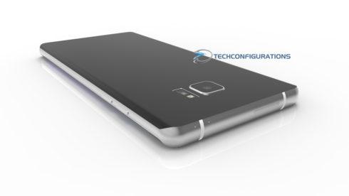 Samsung Galaxy Note 7 3D render (3)