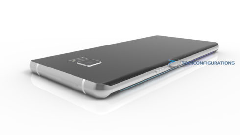 Samsung Galaxy Note 7 3D render (5)