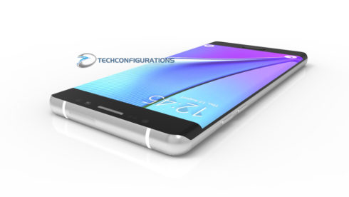 Samsung Galaxy Note 7 3D render (6)