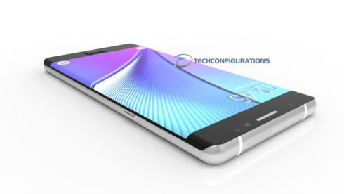 Samsung Galaxy Note 7 3D render (7)