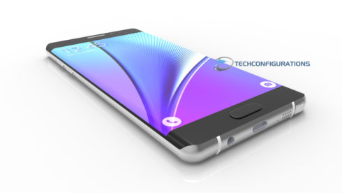 Samsung Galaxy Note 7 3D render (8)
