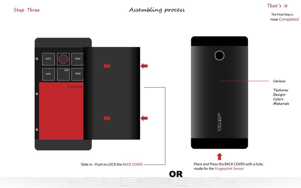 Thor fully modular smartphone concept  (7)