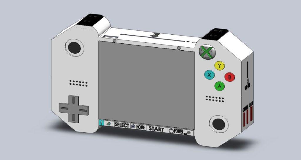Xbox PHD handheld concept 1