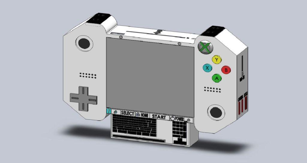 Xbox PHD handheld concept 2