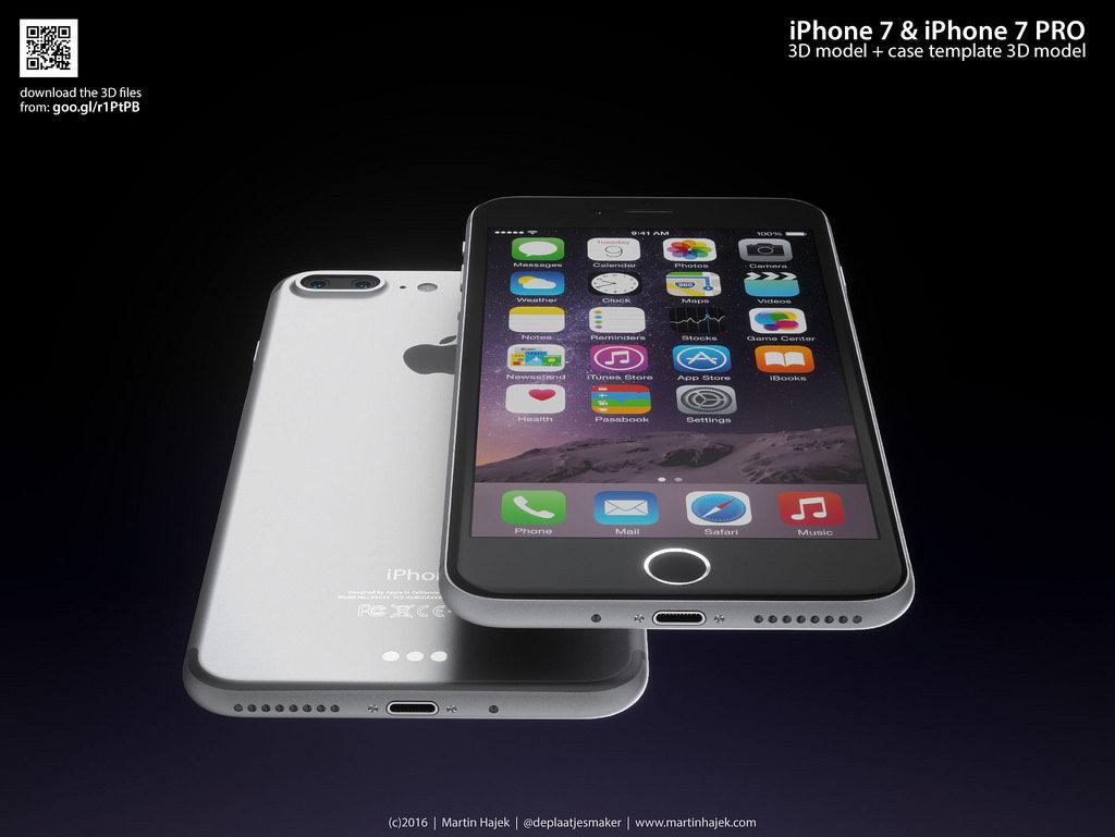 iPhone 7 Pro Martin Hajek 3D render  (1)