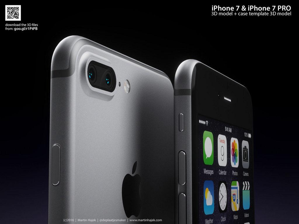 iPhone 7 Pro Martin Hajek 3D render  (2)