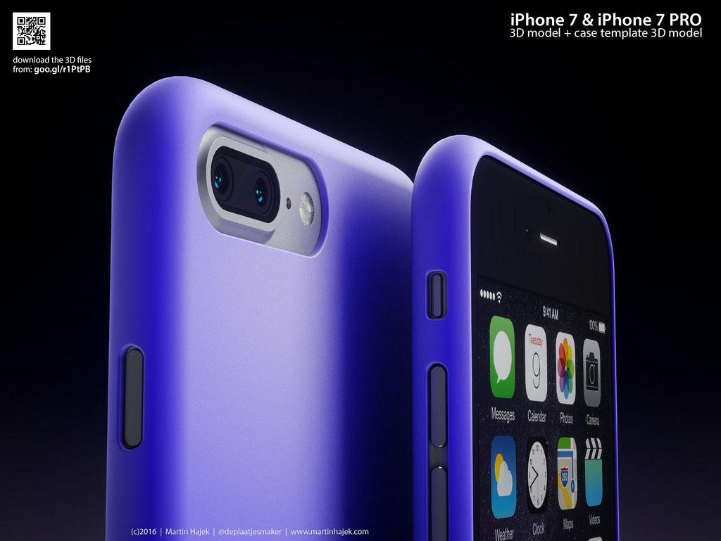 iPhone 7 Pro Martin Hajek 3D render  (3)