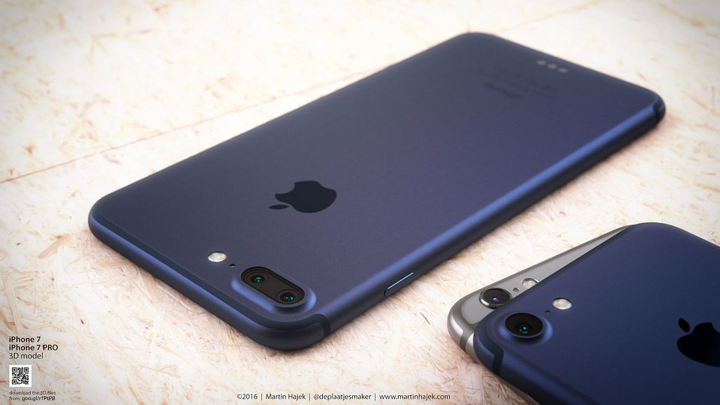 iPhone 7 iPhone 7 Pro dark blue concept martin hajek (7)
