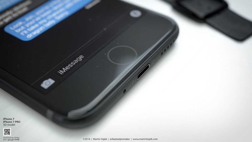 iPhone 7 space black concept Martin Hajek  (1)