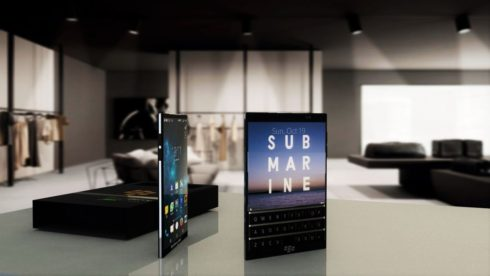 BlackBerry Passport Pearl Edition concept  (3)