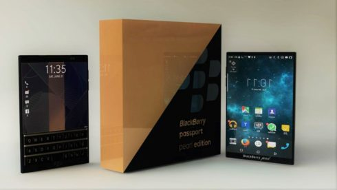 BlackBerry Passport Pearl Edition concept  (6)