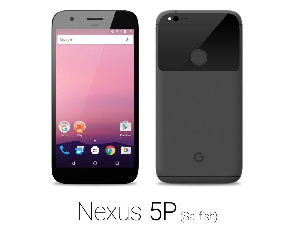HTC Nexus 5P Sailfish black