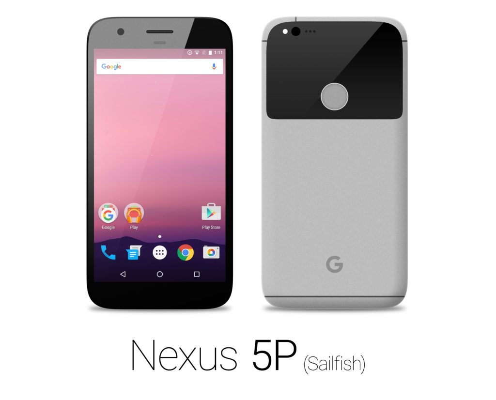 HTC Nexus 5P Sailfish gray