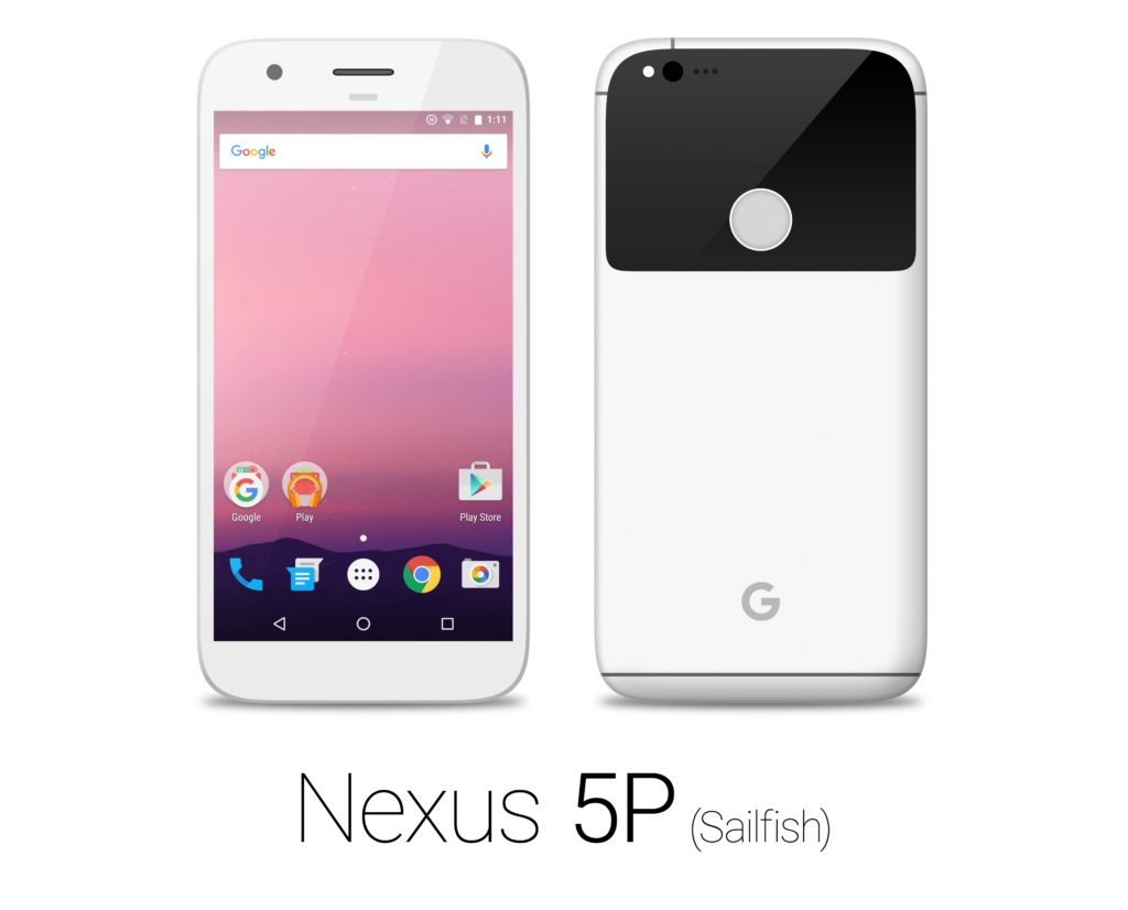 HTC Nexus 5P Sailfish white