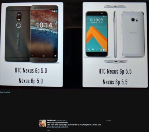 HTC Nexus Marlin Sailfish fake leaks