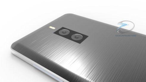 Xiaomi Mi Note 2 3D render (3)