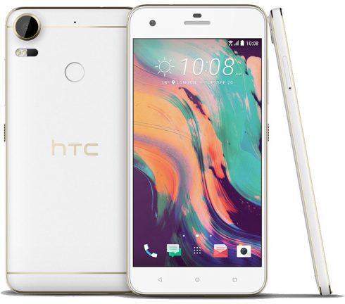 HTC Desire 10 Pro white leak