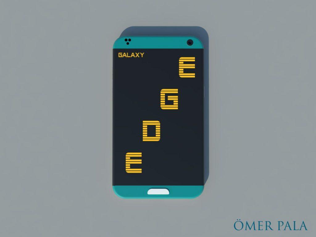 Samsung Galaxy Edge Concept Omer Pala  (1)