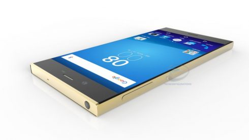 Sony Xperia XR 3D render (3)