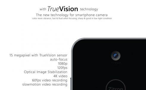 Zitron ZiPocket 3 concept phone 3