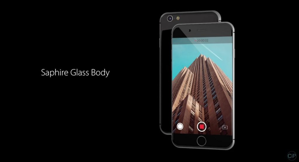 iPhone 8 concept glassy body design  (3)