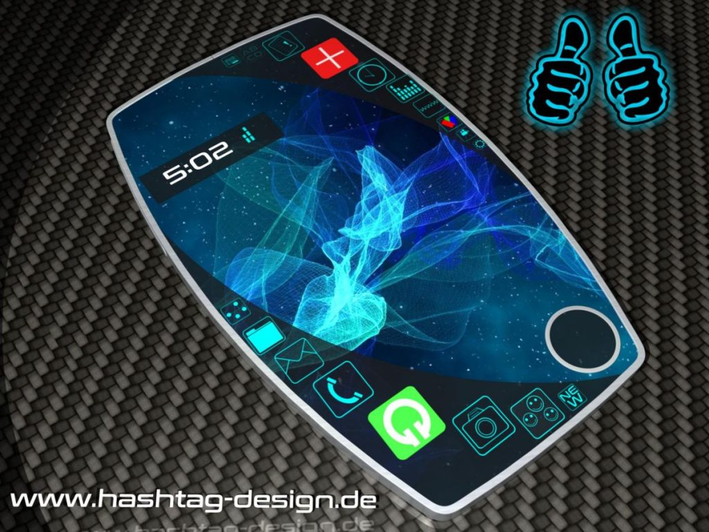 2 thumbs concept smartphone interface  (2)