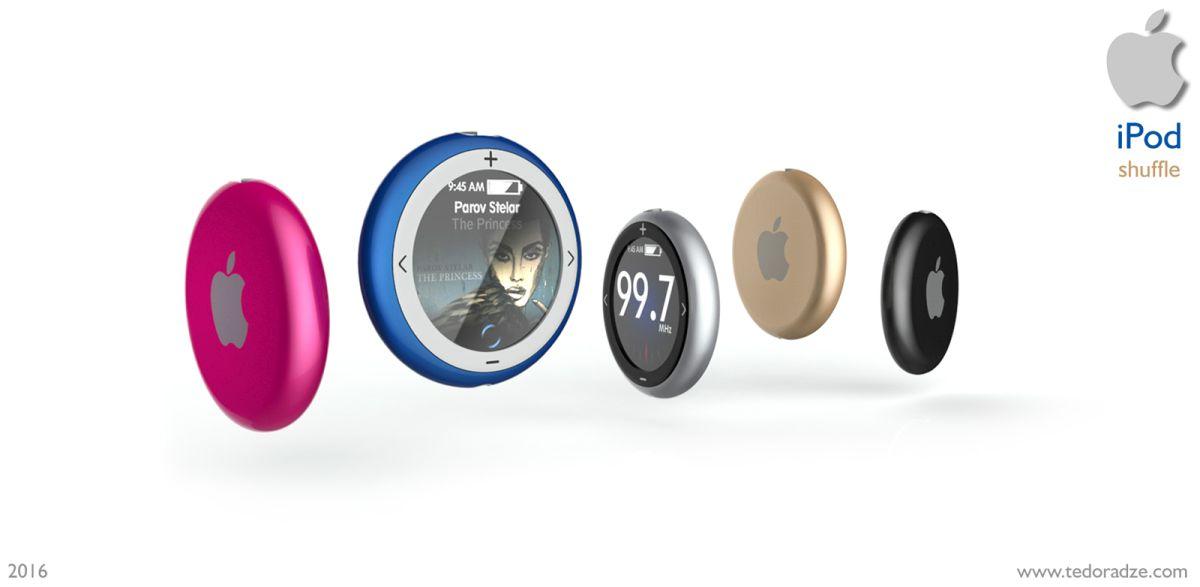 Le Ipod Shuffle Concept 2016 3
