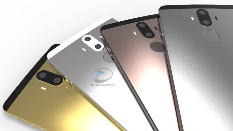 Huawei Mate 9 techconfigurations render  (9)
