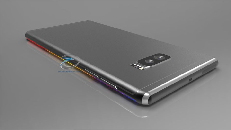 rendering with dual edge display dual camera video concept phones