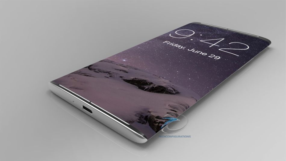 Iphone 8 Concept Rendered By Techconfigurations With