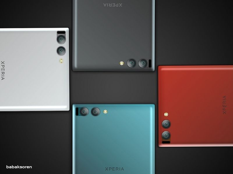 Sony Xperia Xz Premium Concept Brings A Dual Camera In The