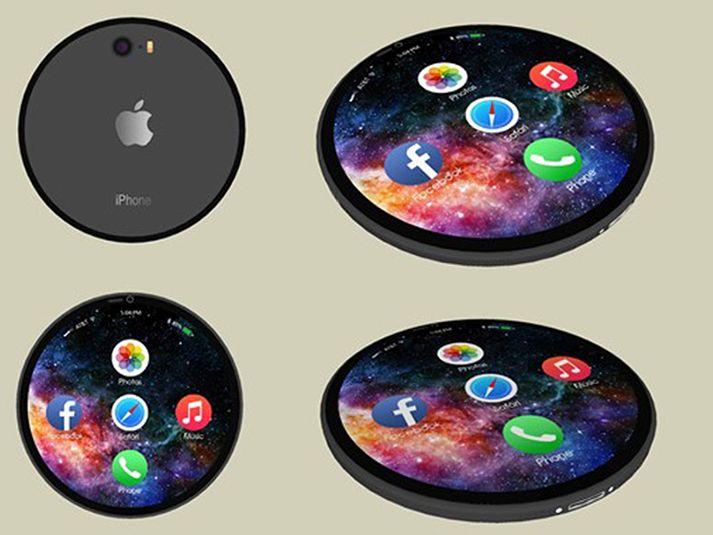 round-iphone-4