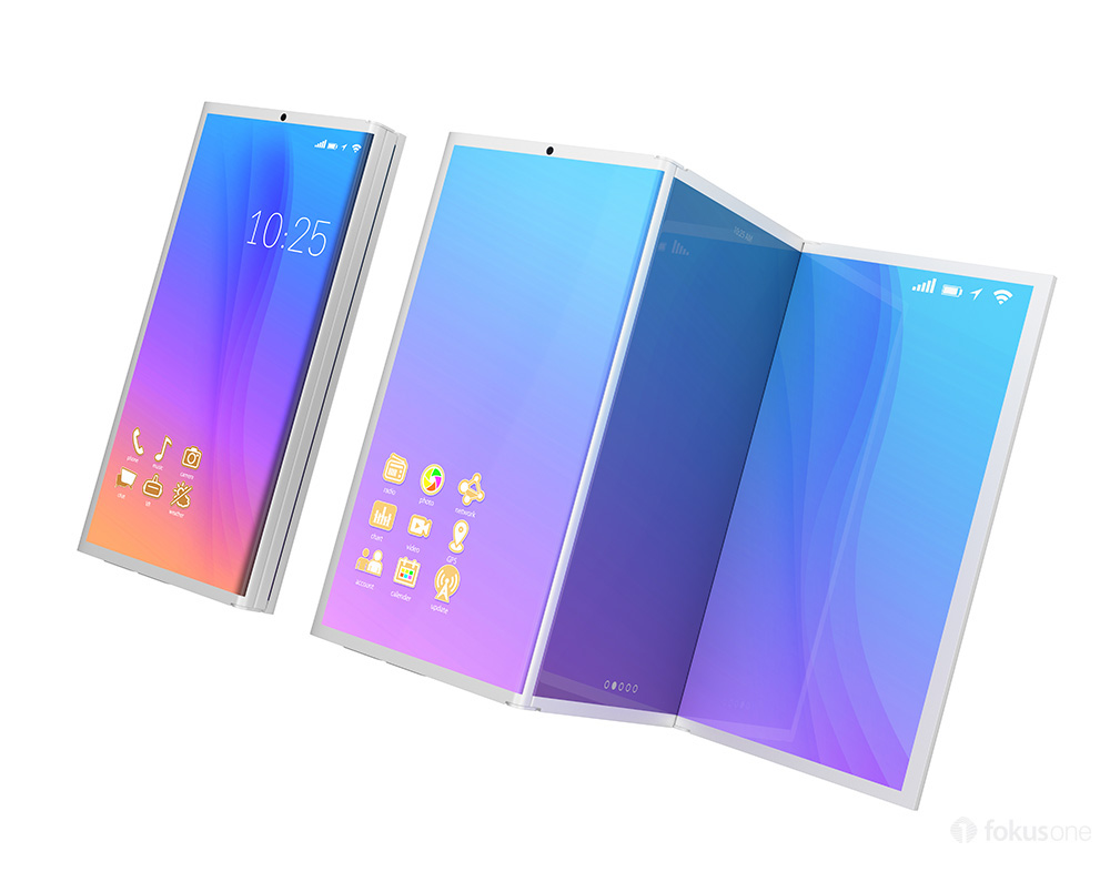 foldable smartphone design by chesky won is exactly what