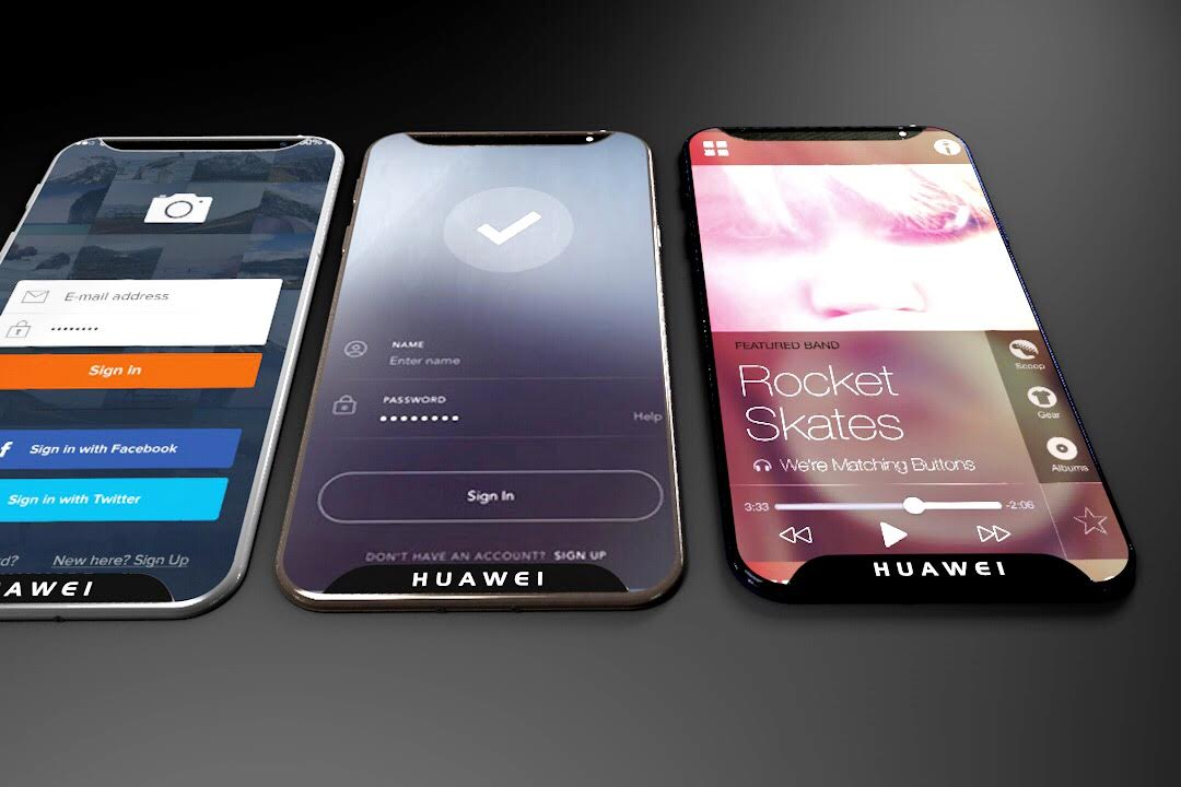 Huawei P X Concept Goes Edge to Edge