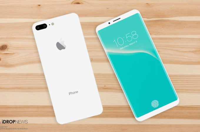 Několik posledních iPhone 8 konceptů (Videa)