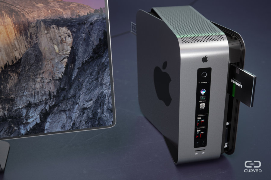 What Does Sd Mean >> Modular Mac Pro Concept is Something Old Apple Would Never do, a Curved/Labs Creation (Video ...
