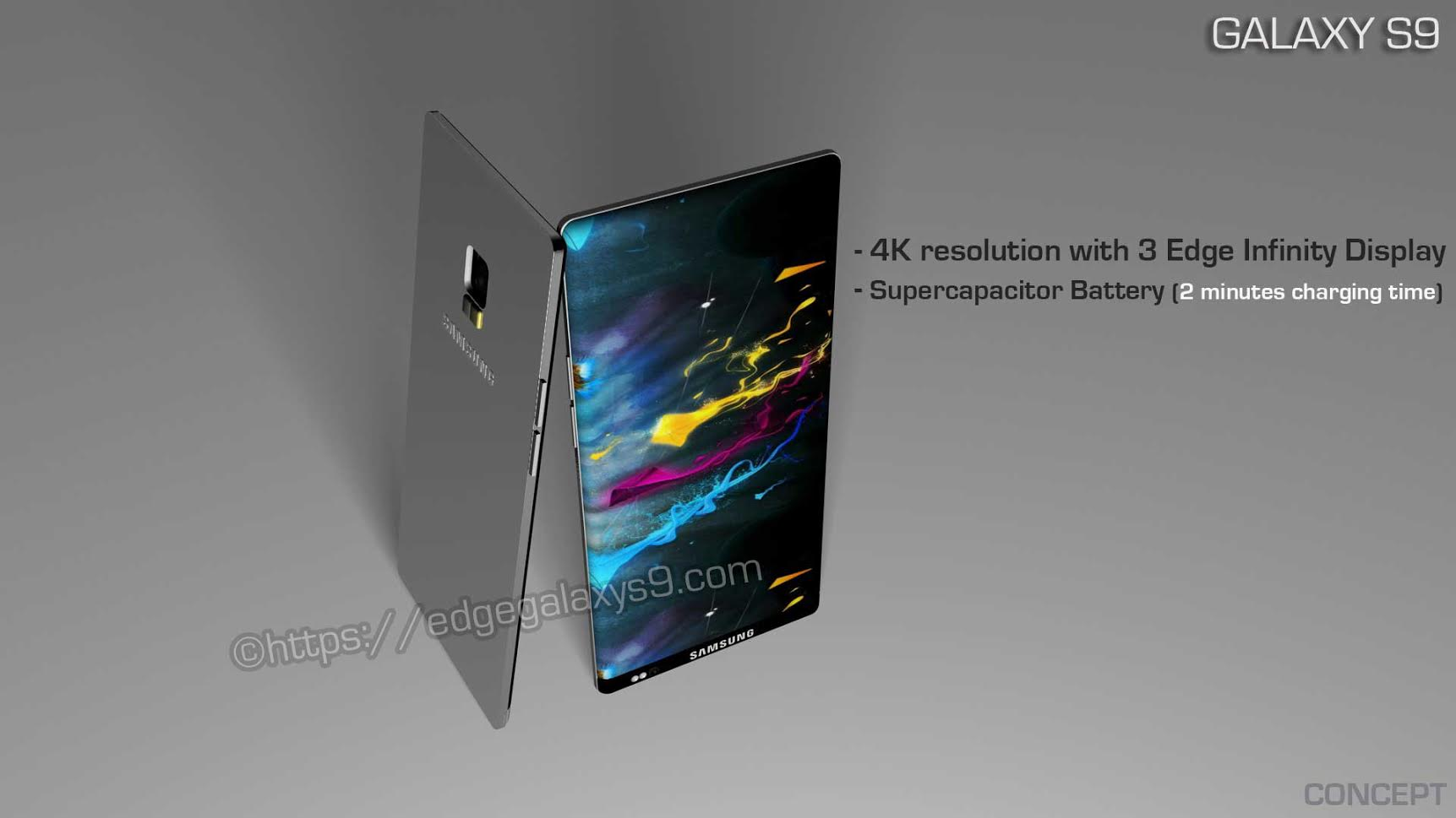 samsung galaxy s9 has just been rendered has 3 edge infinity display supercapacitor battery. Black Bedroom Furniture Sets. Home Design Ideas