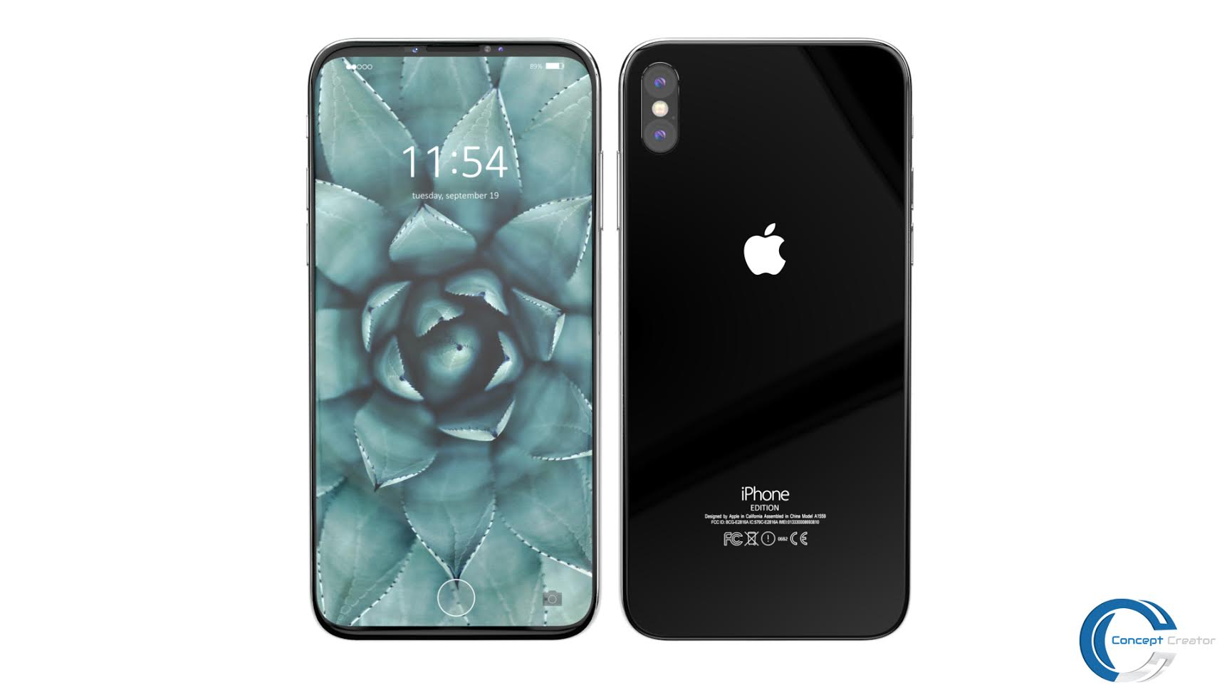 iPhone 8 Render Has Been Finalized by Concept Creator, Red ...