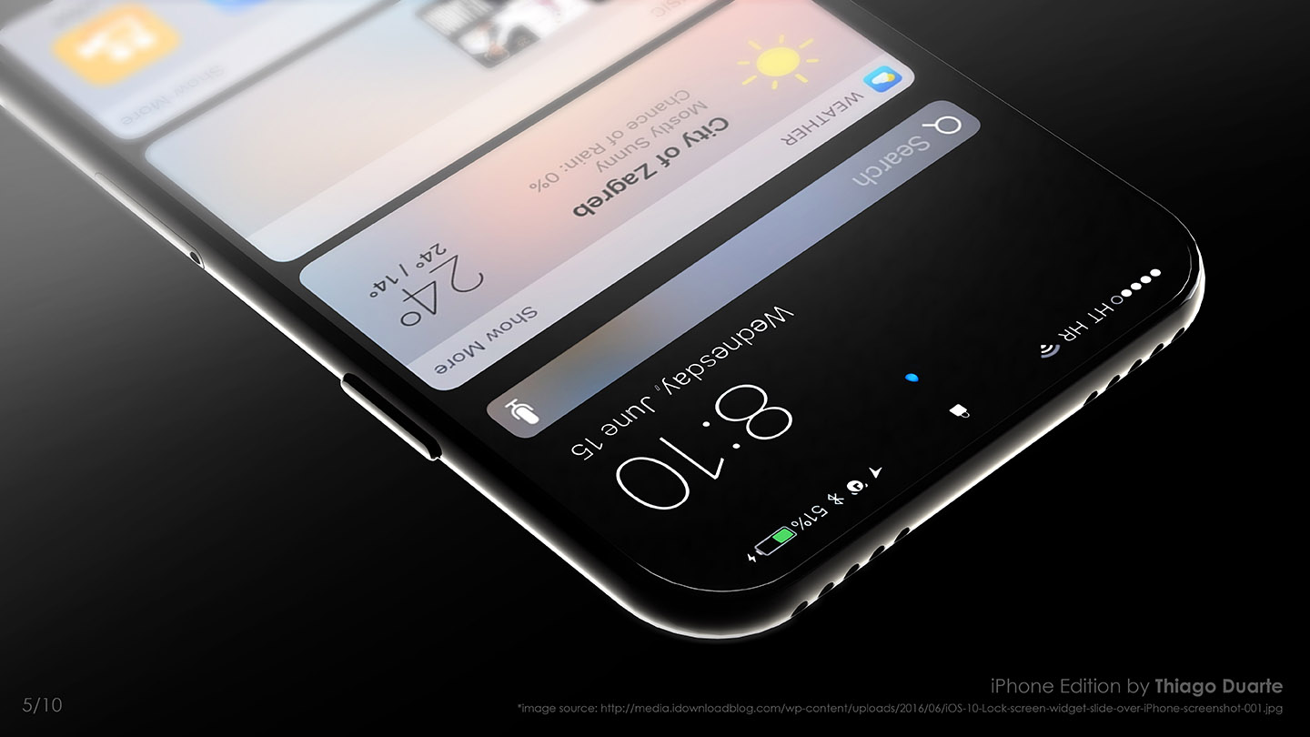 Concept iPhone Edition Feels Sleek and Classy, in Thiago Moreira's