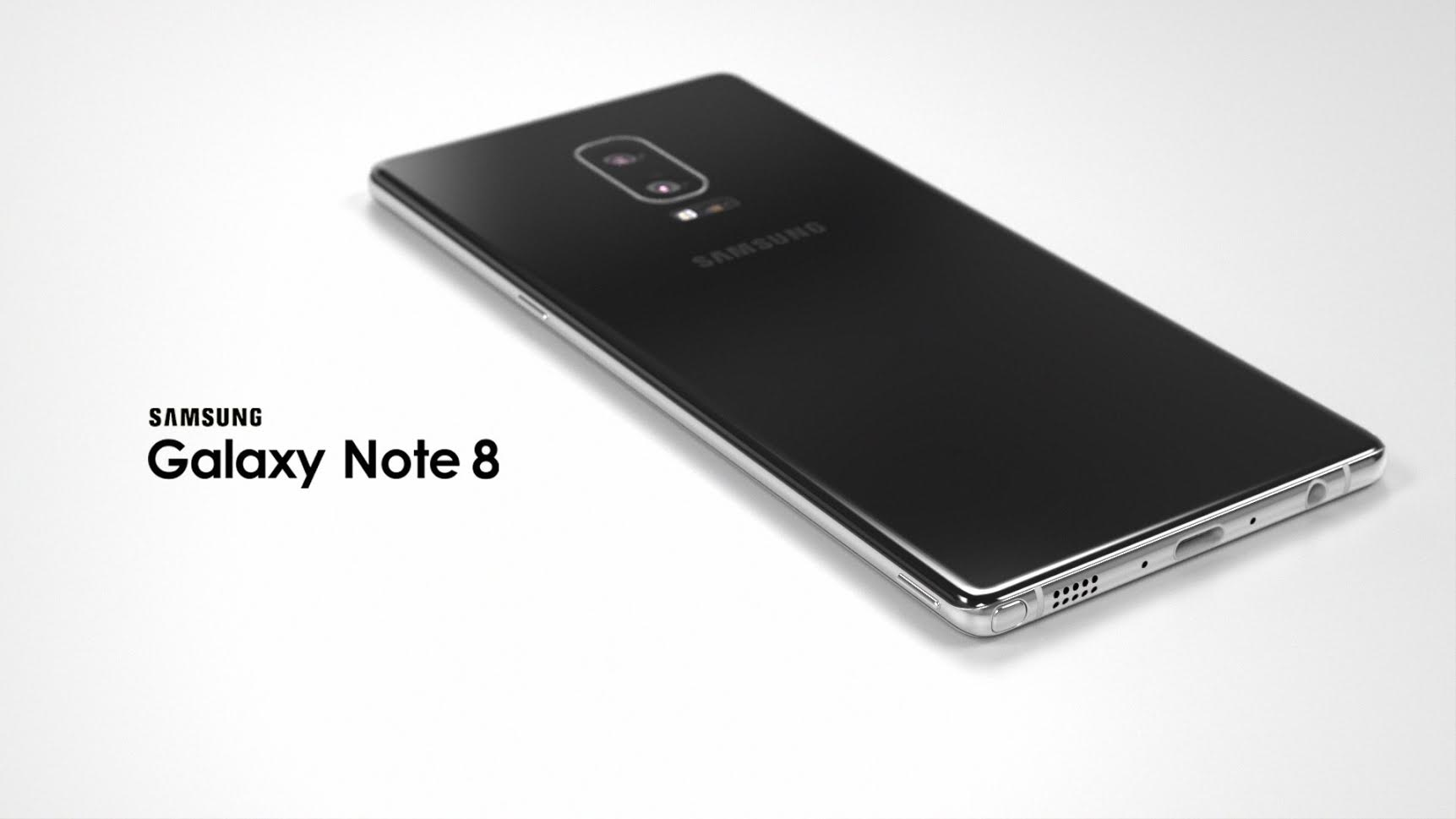 Samsung Galaxy Note 8 Rendered And Modelled By Ivo Maric