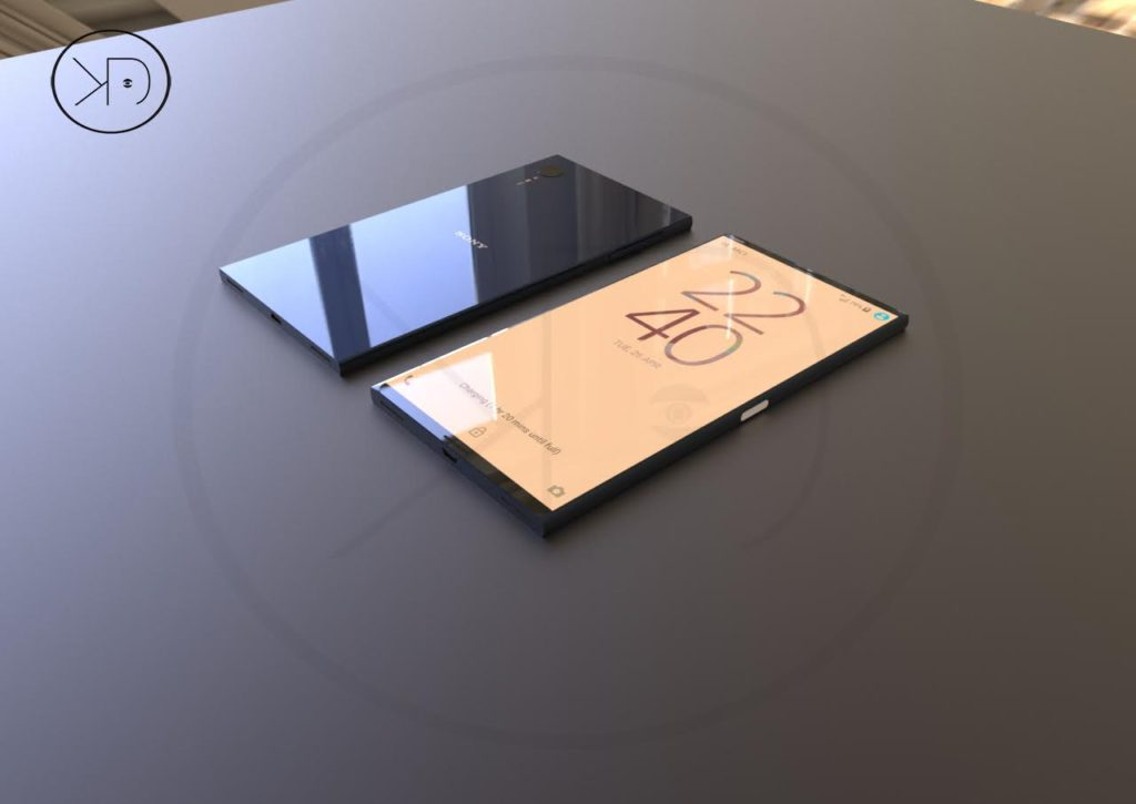 Sony xperia xz1 is a 2018 flagship with snapdragon 845 cpu shiny case concept phones - Home decor designers concept ...
