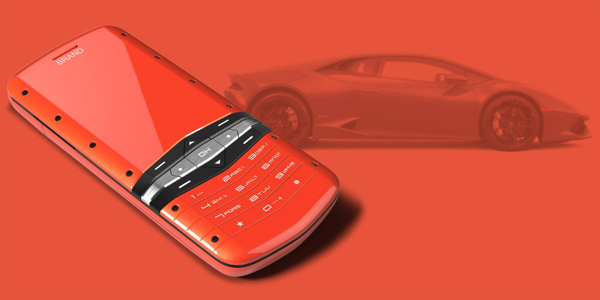 If You Have A Lambo This Is The Phone For You Concept Phones