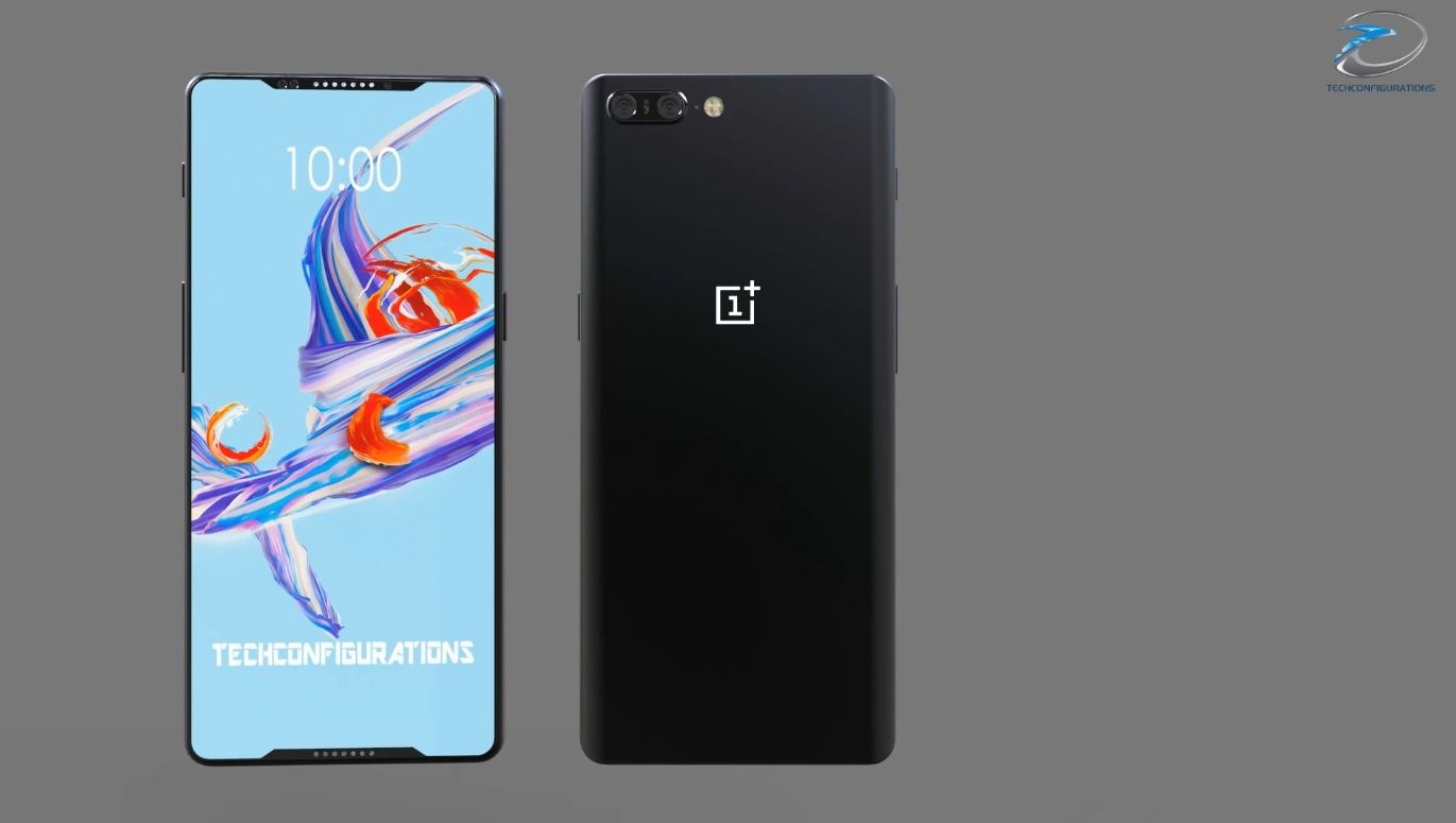 Oneplus 6 Concept Goes Bonkers On Edge To Edge Screen With