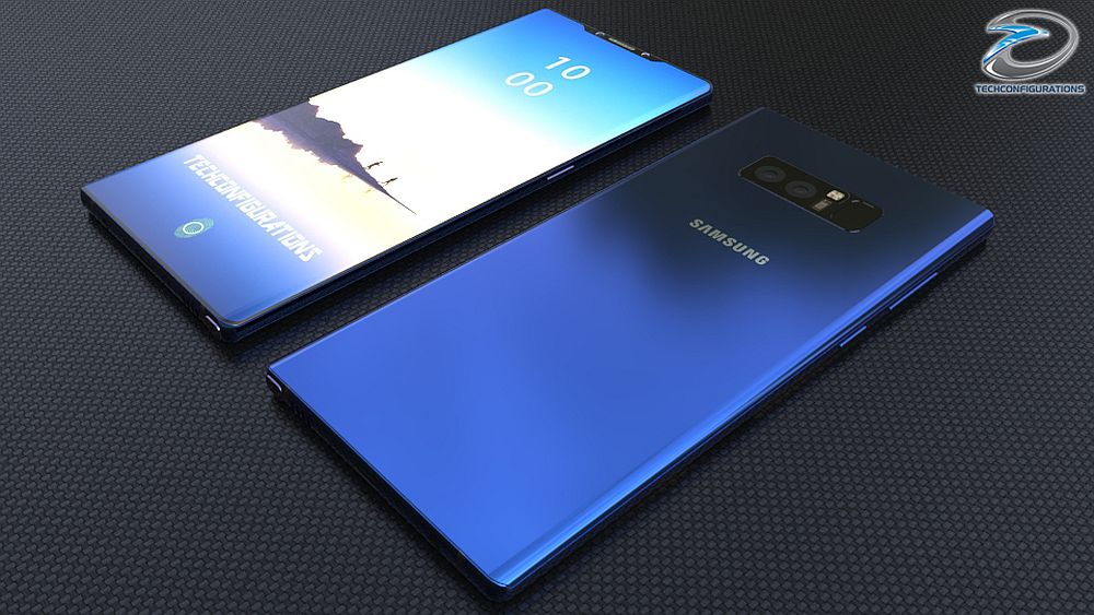 samsung galaxy note 9 concept just got rendered with 95. Black Bedroom Furniture Sets. Home Design Ideas