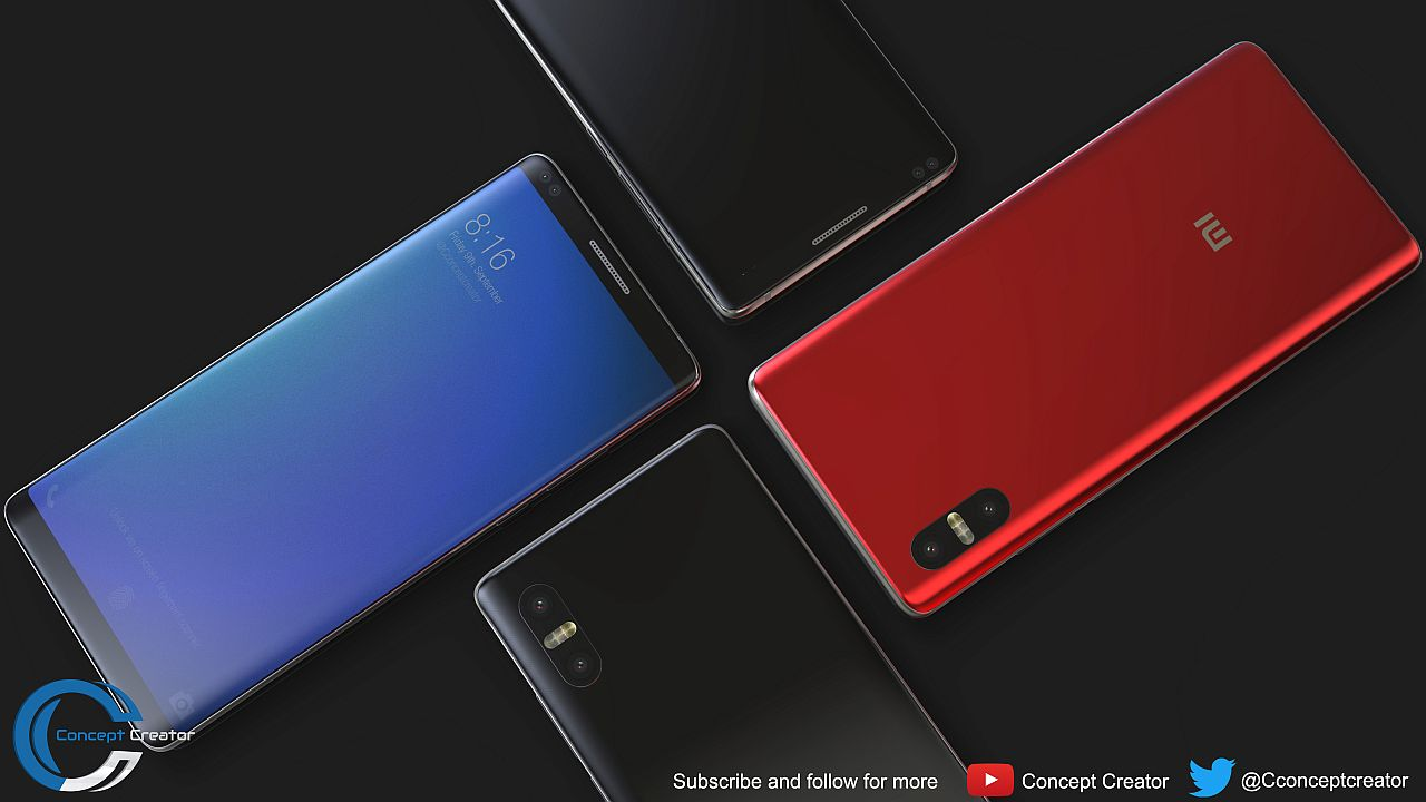 Xiaomi Mi 7 is Already Here, Rendered by Concept Creator ...