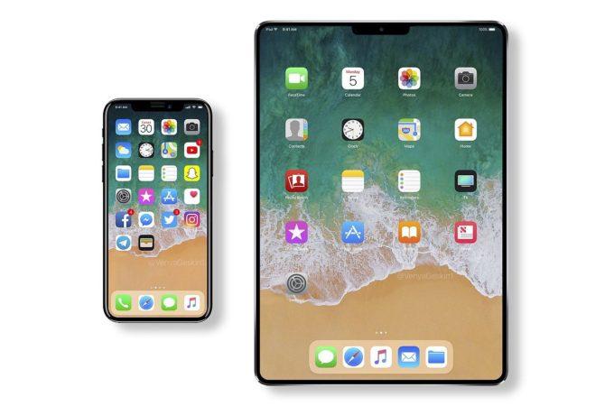 Takto by mohl vypadat iPad již v roce 2018