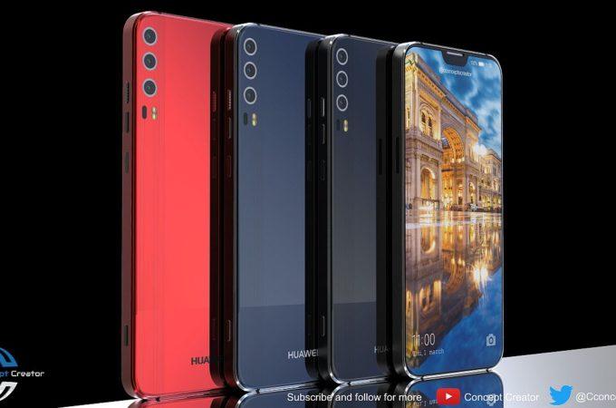 Huawei P11 Gets an iPhone X Notch, Becomes Huawei P11 X | Concept Phones