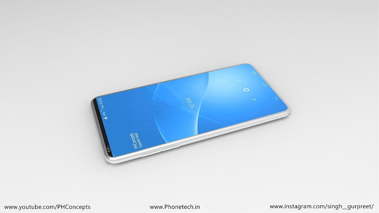 Sony Xperia A Edge Concept is Pretty Fashionable   Concept